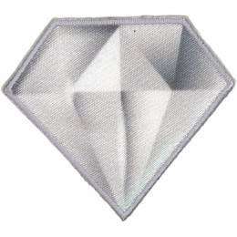 Thermo et autocollant diamant 5,5 cm x 4,5 cm - 408