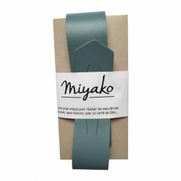 Anse de sac Miyako en cuir orage - 408