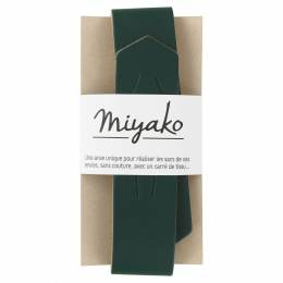 Anse de sac Miyako en cuir forêt - 408