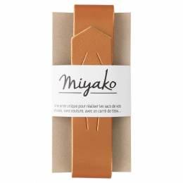 Anse de sac Miyako cuivré en cuir - 408