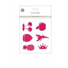 Flex 6 motifs rose - 408
