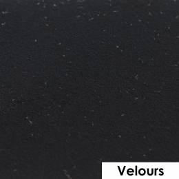 Feuille de flexcut effet velours noir 50x25 cm - 408