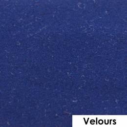 Feuille de flexcut effet velours navy 50x25 cm - 408