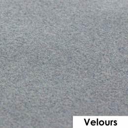 Feuille de flexcut effet velours gris 50x25 cm - 408
