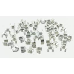Arrêts superieurs 9 lait. Argent x50u - 42