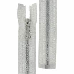 Fag injectée 6mm séparable lurex argent 50cm - 42