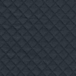 Tissu France Duval jersey matelassé gris foncé - 44