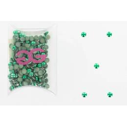 Cristal domestuds lime vert ss16 (288) - 452