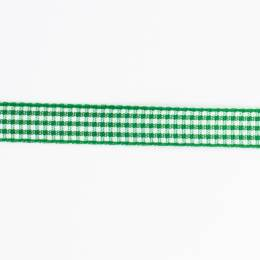 Ruban vichy n°2 10mm vert - 458