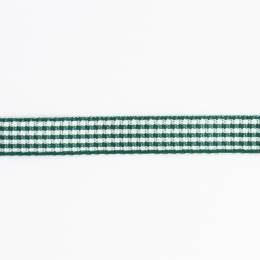 Ruban vichy n°3 15mm sapin - 458