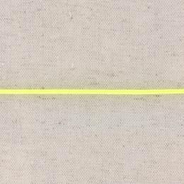 Cordon élastique 2,3 fluo jaune