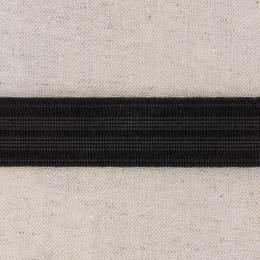 Élastique caleçon 25mm noir - 458