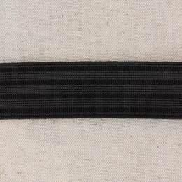 Élastique caleçon 30mm noir - 458