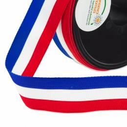 Ruban tricolore n°5 25mm - 458