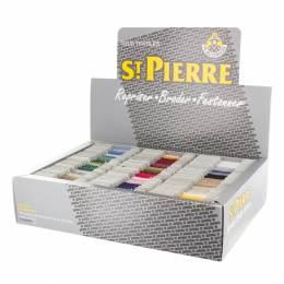 Coffret laine saint pierre 120 cartes assort - 464