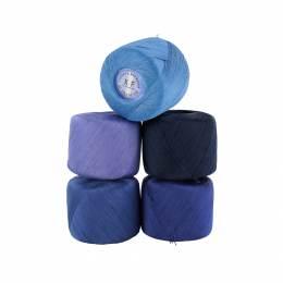 Coton à repriser xf 10grs assortiment bleu - 464