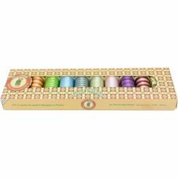 Boite assortiment fil multicolore - 8 bobines - 464
