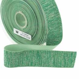 Élastique lurex turquoise 35mm - 465