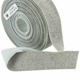Élastique lurex argent 35mm - 465