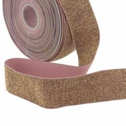 Élastique lurex cuivre 35mm - 465