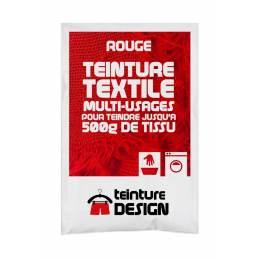Teinture textile universelle 10g rouge - 467