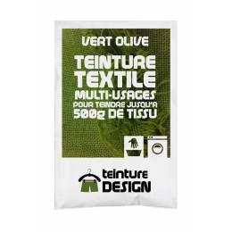 Teinture textile universelle 10g vert olive - 467