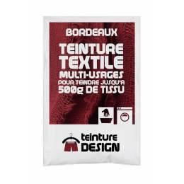 Teinture textile universelle 10g bordeaux - 467