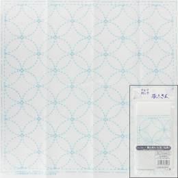 Coupon tissu sashiko blanc - 468