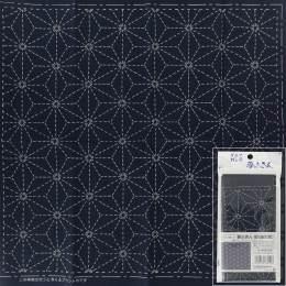 Coupon tissu sashiko navy - 468