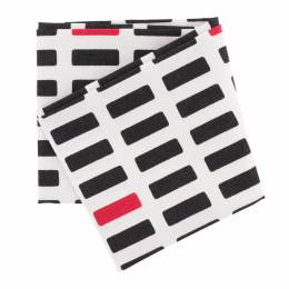 Coupon blocs blanc noir rouge - 468