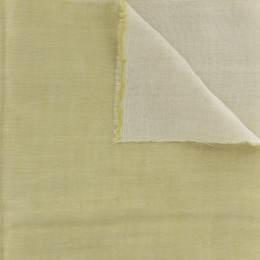 Tissu Kiyohara double gaze chambray jaune - 468
