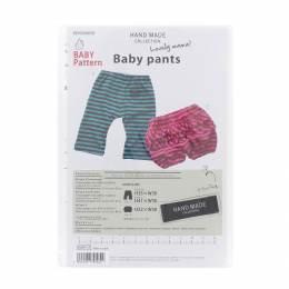Patron bébé pantalon et pantacourt - 468