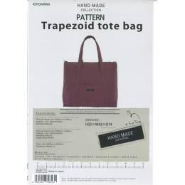 Patron pour sac trapezoid tote bag - 468