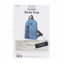 Patron de sac à dos body bag - 468