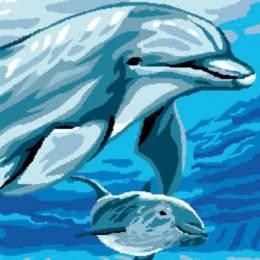 Canevas Luc antique 32/50 Flipper - 47