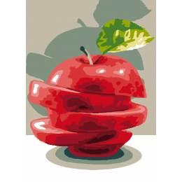 Canevas Luc antique 32/50 x 2 La pomme - 47