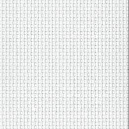 Coupon 40/50 aïda 5.5 100%coton blanc 11 - 47