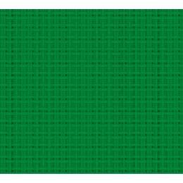 Coupon 40/50 aïda 5.5 100%coton vert 87 - 47