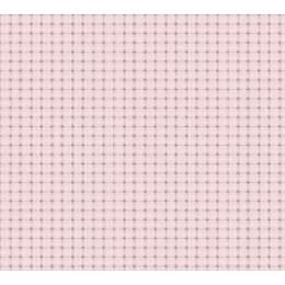 Coupon 80/50 cm. aïda 5.5 100%coton rose 31 - 47