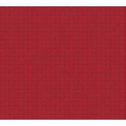 Coupon 80/50 cm. aïda 5.5 100%coton rouge - 47