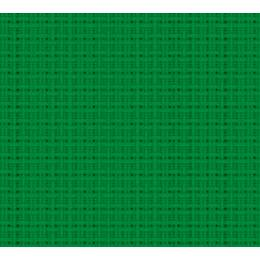 Coupon 80/50 cm. aïda 5.5 100%coton vert 87 - 47