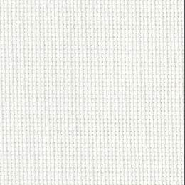 Coupon 40/50 cm. aïda 7.1 100%coton blanc 11 - 47