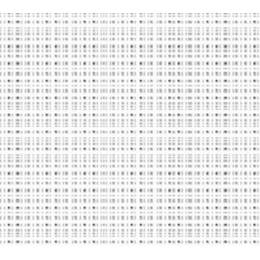 Coupon 80/100 cm. aïda 7.1 100%coton blanc 11 - 47