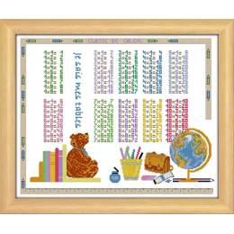 Kit point compté aida Mes tables de multiplication - 47