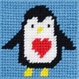 Kit canevas soudan 20x20 Pigloo le pingouin - 47