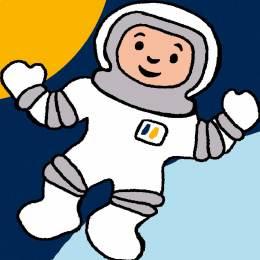 Kit canevas soudan 20/20cm Astronaute - 47