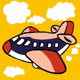Kit canevas soudan 20/20cm Avion - 47