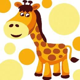 Kit canevas soudan 20/20cm Girafe - 47