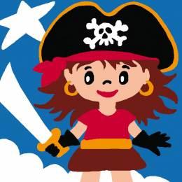 Kit soudan 25/25 Pirate fille - 47
