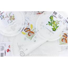 Lot 16 napperons + 2 offerts - 47